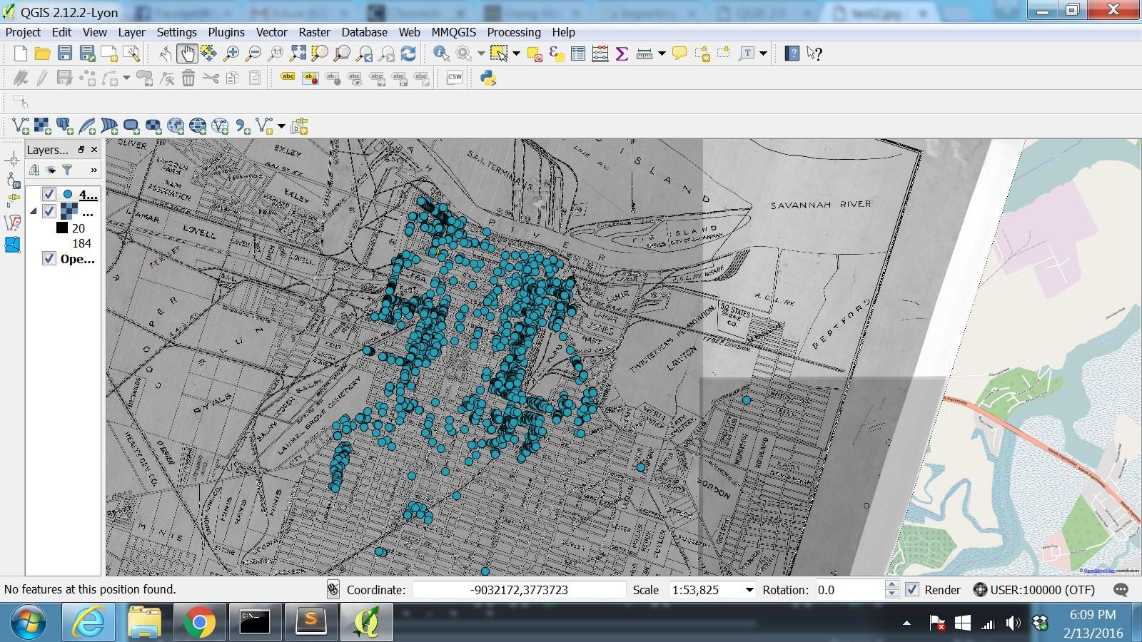 Map 1900.Mapping On A Historic Map Savannah 1900 Ella Howard